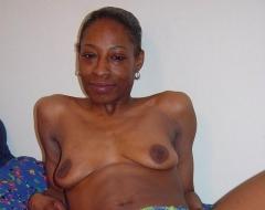 ebony horny older women